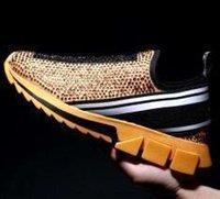 nuevas camisetas de marca al por mayor-Nuevos zapatos calientes de Sorrento Nuevos hombres de marca Rhinestones Tela Stretch Jersey Sorrento Slip-on Sneaker Moda Mujer Suela de goma Zapatos casuales