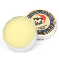 Wholesale organic natural oils for sale - Group buy Men Organic Beard Oil Balm Moustache Wax Styling Beeswax Moisturizing Smoothing Gentlemen Beard Care Natural Beard Balm