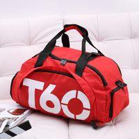 2019 New Fitness Bag Multifunctional Travel Bag Handbag Women Sports Male  Shoulder Recreational Skew Training 999213d34a