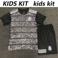 Wholesale mexico soccer jerseys youth resale online - 2019 Mexico CCCF Gold Cup home home kit Soccer set Jersey HERRERA LAYUN CHICHARITO H LOZANO shirt Football top Uniform youth