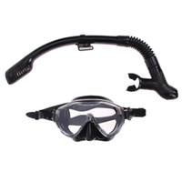 Wholesale snorkelling masks for sale - Group buy Silicone Diving Mask Anti Fog Goggles Glasses Snorkel Breathing Tube Set Swimming Fishing Pool Equipment