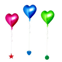 Wholesale helium balloons pvc for sale - Group buy Balloon Weights Helium Balloons Pendants Wedding Decoration Birthday Party Supplies Star Heart Circle Shape Multi Colors xp D1