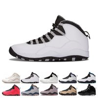Wholesale cool gym shoes for sale - Group buy 10 s Men Basketball Shoes Desert Camo Orlando Cement Westbrook I m Back Cool Grey Trainer Athletic Designer Sports Sneaker Size