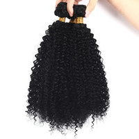 Wholesale human hair attachment for braids for sale - Group buy 4b c Bulk Human Hair for Braiding Peruvian Afro Kinky Curly Bulk Hair Extensions No Attachment FDSHINE