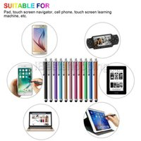 Wholesale universal stylus pen for tablets for sale – best Metal Tablet Pen Stylus Pen Capacitive Touch Screen For Universal Mobile Phone Tablet iPod iPad cellphone