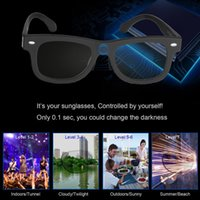 Wholesale electronics technology for sale - Group buy 2020 Electronic Diming Sunglasses LCD Original Design Liquid Crystal Polarized Lenses Factory Direct Supply Patent Technology Y200420