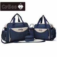 Wholesale mummy set for sale - Group buy CyBee new ashion multi function large capacity mummy bag five sets out from bag hand the bill of lading shoulder mother package