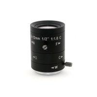 industrielle kamera freies verschiffen großhandel-6-12mm LENS C-Mount 3.0 Mega Pixel HD Industrie Objektiv Vari-Focal Manuelle Iris CCTV-Objektiv für CCTV-Kamera-freies Verschiffen