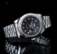 Wholesale stainless steel discoloration for sale - Group buy luxury New man Military watch Stainless steel Casual wristwatch steel quartz watches color clock male brand watch diamond rol