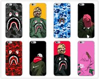 Wholesale cell phone cases for sale – best For Iphone Pro Xs Max Xr Luxury Design Shark Mouth Phone Case X Plus Brand Soft Cell Phone Cases