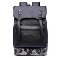 Wholesale carry shoulder bag backpack for sale - Group buy Durable oxford men backpack casual laptop school carrying bag travel luggage man shoulder bag dark gray