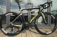 guidão carbono branco venda por atacado-Cipollini NK1K carbono Estrada completa fosco bicicleta brilhante + 50 milímetros logotipo branco carbono Estrada Wheelset Cipollini guiador