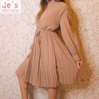 Wholesale cute vintage clothing resale online - Summer Print Flowers Women Kawaii Dress Korean Casual Long Sleeve Mid Calf Party Dress Vintage Vestidos Cute Clothing T200106