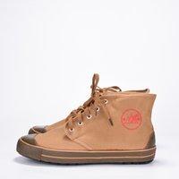 erkekler yumuşak ayakkabılar toptan satış-Tuval Yüksek Üst Çizmeler Erkekler Yumuşak Kauçuk Tabanlar Sneakers Erkek Askeri Çizmeler Erkekler Erkekler için Ayak Bileği Çizmeler Seyahat Ayakkabı Sitesi Emekçiler Iş Ayakkabıları
