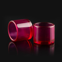 Wholesale glass dab dish online - Newest Ruby insert dab accessories quartz bangers insert dish for mm mm mm Thick quartz nail glass bong water pipes