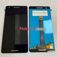 Wholesale LCD Display For Nokia TA TA Touchcreen quot tizer Sensor Panel Replacement Repair Parts Assembly No Frame Black Tesed