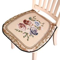 Wholesale home stool for sale - Group buy Decorative Sofa Chair Seat Cushion Nordic Style Outdoor Cushion Embroidered Pad For Kitchen Stool Color Chair Pillow For Home