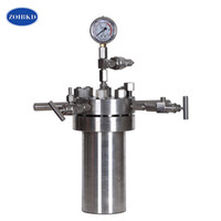 ZOIBKD New 0.025L--2L Laboratory Chemical Simple Stainless Steel High Pressure Reactor Autoclave Hydrothermal Synthesis Autoclave