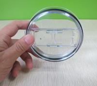 plastik oz großhandel-20 oz 30 oz Cups Deckel Splash Spill Proof Deckel für Cup Ersatzdeckel Top Cap Deckel Resistant Proof Deckel KKA6530
