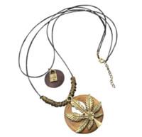 eiffel schmuck großhandel-Vintage Lange Charme Halskette Baum Hut Schlüsselblatt Eiffelturm Halsketten Ethnischen Schmuck für Frauen