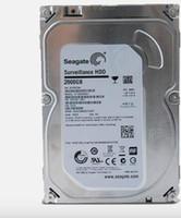 dahili sata hdd hard drive toptan satış-SATA HDD 2 TB Sabit Diskler Bilgisayar Depolama ve CCTV Güvenlik Kaydedici DVR NVR için Dahili Sabit Disk