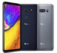 ingrosso sbloccare lg-Telefoni cellulari rinnovati NFC sbloccati originali LG V35 ThinQ 6.0