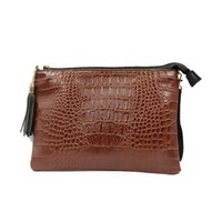 Wholesale clutch hand strap resale online - Women Crossbody Clutch Bag PU Leather Evening Hand Clutch Purse Ladies Wallet Clutch Bags With Should Strap DOM108