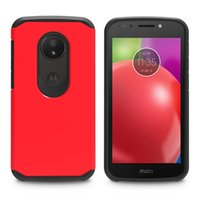 Wholesale droid covers for sale – best Dual Layer Slim Armor Combo Case for Motorola Moto G5 Plus G4 Play Z Force Droid Edition Cover w Rubber Oil Shockproof Shell