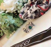 ringe großhandel-Neuer Ankunft S925 reiner silberner hohler Bandring und Blumenentwurf für die Frauen, die Schmucksachen gift + box PS7642 wedding sind