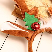 Wholesale hair accessories for sale - Group buy 1 Christmas Deer Antlers Headband Hair Accessories Decoration Durable For Party XHC88