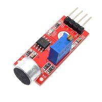 ses modülleri toptan satış-Yeni 3mm Mikrofon AVR PIC Ses Ses Algılama Sensörü Modülü Arduino için KY-037