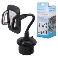 Wholesale accessories for samsung cell phones for sale – best Cell Phone GPS Adjustable Car cup holder Car Mount Holders Interior Accessories Drinks Stand Bracket for Samsung s10 iphone x Huawei P30