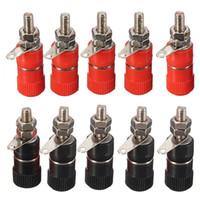 Wholesale socket bind for sale - Group buy 10pcs JS B Test Clip Plug Banana Socket Jack Adapter Electrical Binding Wire Connectors Terminal Block car