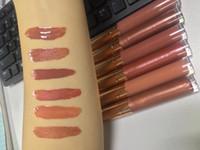 Wholesale lip glossy resale online - Waterproof Moisturizing Glossy Shimmer Lip Gloss Lipgloss Nude Lip Gloss Makeup Lipgloss shiny Glitter liquid Lip Gloss lipsticks