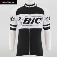 equipo pro ciclismo blanco al por mayor-2019 hombres camiseta de ciclismo Negro blanco Clásico retro equipo pro bicicleta seca desgaste carretera mtb ropa ciclismo maillot jersey de bajada fresco afortunado honor