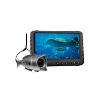 videokamera finder großhandel-Wasserdichte 2MP 1080P Full HD-Video-Fish Finder-Kamera für Hochseefischerei Eisfischen Unterwasser erkennen DVR bis zu 128 GB Speicher
