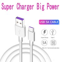 Wholesale oem cables online – 5A Type C Data Cable Huawei P30 P20 lite Mate20 PRO OEM USB Type C Super Fast Charger Charging Cable Samsung S10 Lg Android Phone