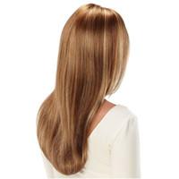en sıcak peruklar toptan satış-Sıcak satış Uzun Işık Sarışın Platin Peruk Kadınlar Için Noble Peruk Düz Sentetik Dantel Ön Saç Dantel ön peruk Cosplay sarışın ön peruk
