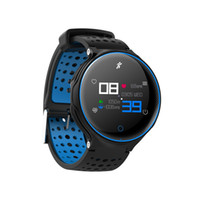 ingrosso vigilanza del tocco della donna-Fitness Smart Watch Display a colori Touch Bluetooth Bracciale Cardiofrequenzimetro Monitor per uomo e donna Smart Band per IOS Android