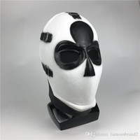 Wholesale cosplay material for sale - Group buy Halloween Poker Face Mask COSPLAY Latex Material Party Outdoor Game Gift Ball Dress Up Unisex Props