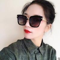 quadratische koreanische sonnenbrille großhandel-mode frauen sonnenbrillen männer koreanische version retro neue polarisator platz großen sonnenbrille uv schutz web promi