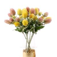 plastik yapay dekoratif meyveler toptan satış-Sahte Tek Kök Güzel Devedikeni (5 kafa / adet) 17.72