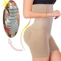 shaper sexy para mujeres al por mayor-Sexy Butt Lifter Mujeres adelgazantes Fajas Control de barriga Bragas Entrenador de cintura alta Body Shaper Boyshort Tight Power Short