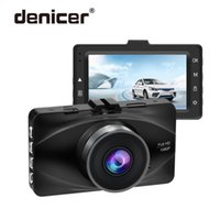 Wholesale sell dvr car for sale - Group buy Factory Dash Camera Black Metal Car Recorder Front FHD P DVR with Rearview Camera Dual Lens Car Cam Discount Selling