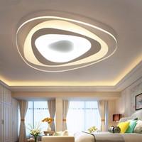 Wholesale nickel paint for sale - Group buy Ultrathin Triangle Ceiling Lights lamps for living room bedroom lustres de sala home Dec LED Chandelier ceiling