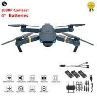 hd fpv großhandel-Drohne x Pro 1080P HD Kamera Wifi APP FPV Faltbare Weitwinkel 4 * Batterien