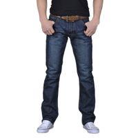 панталоны hip hop hombre оптовых-2019 Casual Mens Fashion Hip Hop Jogger Jeans Loose Trousers Ripped Jeans For Men Denim Pants Pantalones Vaqueros Para Hombre 20