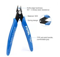 Wholesale electrical wire cutters resale online - Plato Nipper Pliers Cutting Tools Electrical Tools Wire Cable Cutters Side Cutting Diagonal Pliers Mini Pliers KKA7038