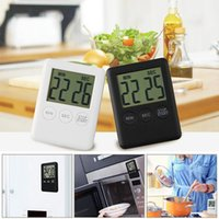 Wholesale count up down timers resale online - Dropshipping Digital Timer Reminder Alarm LCD Cooking Clock Kitchen Large Count Down Up Loud