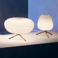 cam masa lambaları yatak odası toptan satış-Modern LED Masa Lambası Oturma Odası Yatak Odası Masa Lambası Başucu Için LED Ev Dekoratif Cam Masa Lambası E27 Aydınlatma Armatürleri